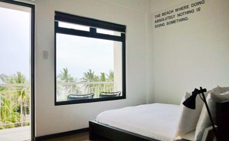 Standard Bedroom View.