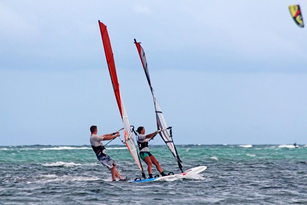 Starboard Tandem Windsurfing