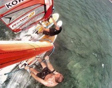 Windsurfing in Boracay