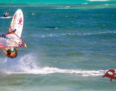 Windsurfing in Boracay 2015